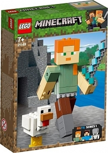 Minecraft BigFig  Alex z kurczakiem 21149