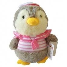 Pluszak Pingwinek Kajtuś Różowy 22 cm