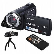 Kamera cyfrowa V12 FHD 16xZOOM PL + statyw T237Z