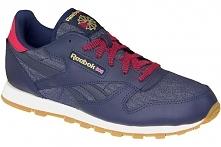 Reebok Classic Leather Dg ar2042 38 Granatowe