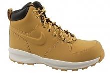Nike Manoa Lth Gs aj1280-700 35,5 Żółte