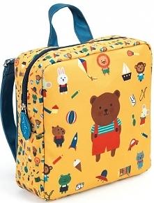 Djeco Plecak Dziecięcy Niedźwiadek
