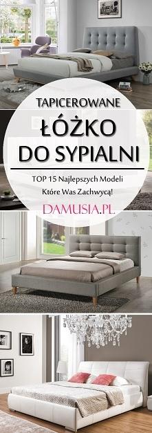 Tapicerowane Łóżko do Sypia...