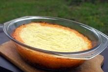 Zapiekane mięso mielone pod delikatną pierzynką z ziemniaków