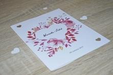 Zaproszenie na ślub ❤❤❤  wiecej informacji na poligrafiapr@interia.pl  #wesel...