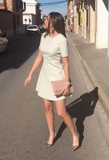 Skórzana sukienka z Zary