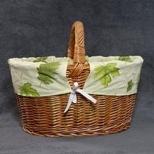 Wiklinowy koszyk zakupowy