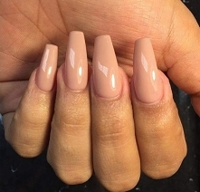 nude, nails, pink, light,