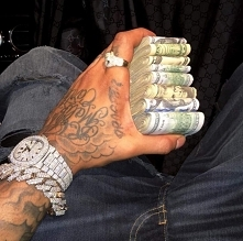 men, hand, black, tatto, money, dollars, bling