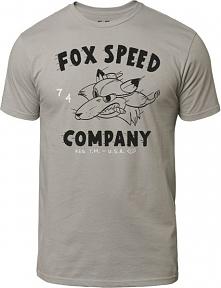 FOX T-Shirt Męski Bomber Ss Premium Tee M Szary