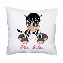 Poduszka- Mrs. Zebra