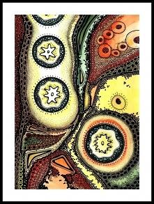 Sztuka inspirowana Zentangle