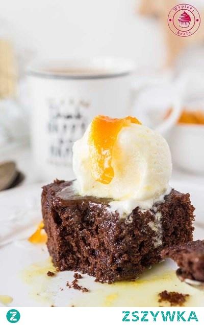 Ciasto czekoladowe z cieciorki - Wypieki Beaty