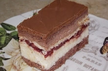 Ciasto z kaszą manną i herb...