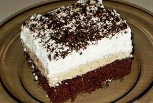 Pyszne ciasto z colą i masą herbatnikowo-orzechową