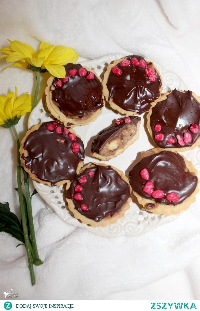 Babeczki z ciasteczkowym kremem czekoladowym