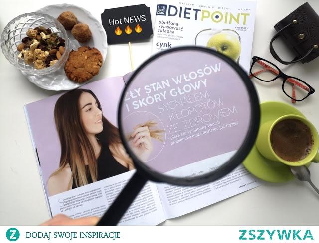 Nasz mały sukces nr kolejny ;) Czyli artykuł w profesjonalnym magazynie o zdrowiu i diecie!  Więcej po kliknięciu w zdjęcie ;)