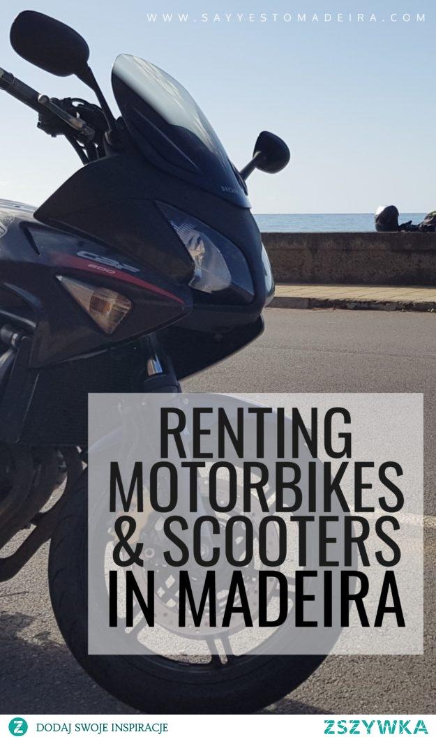 Motorem po Maderze - wycieczka motocyklem przez Maderę. Wynajem motorów i skuterów na Maderze.