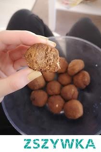 Przepis na kulki piernikowe z mąki razowej, lnianej i ryżowej