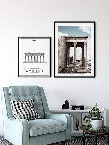 Dwa plakaty - Ateny