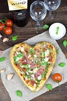 Pizza na romantyczną kolację