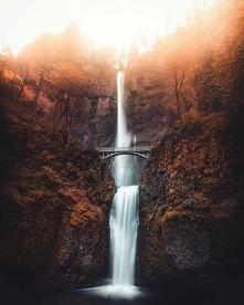 Multnomah Falls, Oregon, Un...