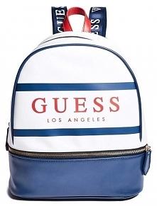 Guess Damski Plecak Marisoll Gym Logo Backpack