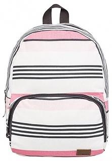 Roxy Plecak Always Core Canvas Marshmallow Day Brea K Stripe erjbp03830-wbt5