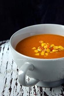 Zupa z pieczonej papryki z ...