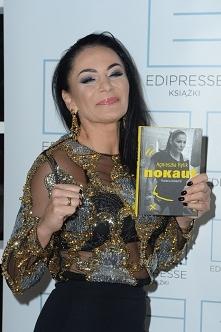"""Agnieszka Rylik na premierze książki """"Nokaut. Historia bokserki"""""""