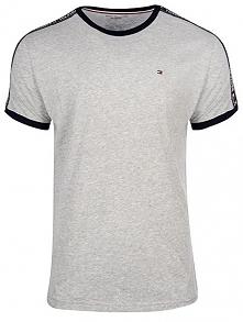 Tommy Hilfiger Męski T-Shirt Authentic Rn Tee Ss Um0Um00562 -004 Grey Heather...