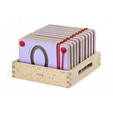 Drewniane tabliczki z cyferkami to świetna pomoc przy podstawowej nauce matem...