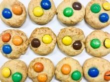 Ciasteczka z kolorowymi pas...