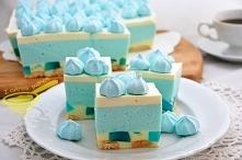 Smerfetka - ciasto bez piec...