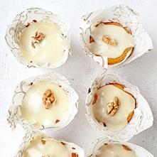 muffinki orzechowo miodowe