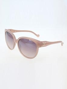 Damskie okulary przeciwsłoneczne w kolorze fioletowo-jasnoróżowym