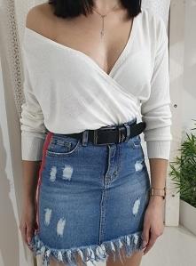 Jeansowa spódnica LAMPAS Ot...