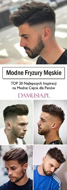 Modne Fryzury Męskie – TOP ...