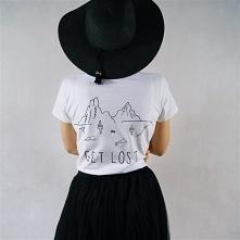 Koszulka ręcznie malowana &...