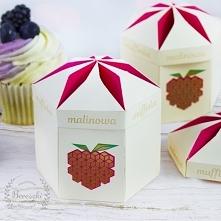 Projekt opakowania na muffinki