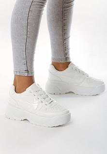 Białe Sneakersy Over