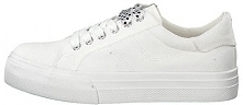 Tamaris Damskie Buty Sportowe 1-1-23602-22 -100 White (Rozmiar 38)