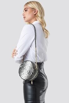 Trendyol Snake Patterned Shoulder Bag - Grey