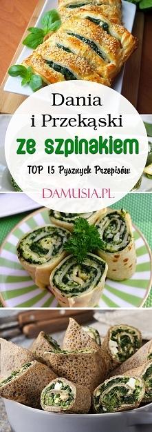 Dania i Przekąski ze Szpina...