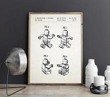 Ludzik Lego - patent - plak...