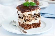 ciasto z waflami