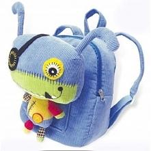 Plecak i Maskotka Monster 2w1 do Przedszkola na Wycieczkę