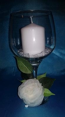 świecznik na stół  weselny ...