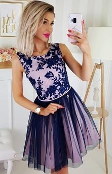 Bicotone sukienka wieczorow...