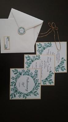 #zaproszenie #zaproszenieslubne #ślub#slubnaglowie #invitation #weddinginvita...